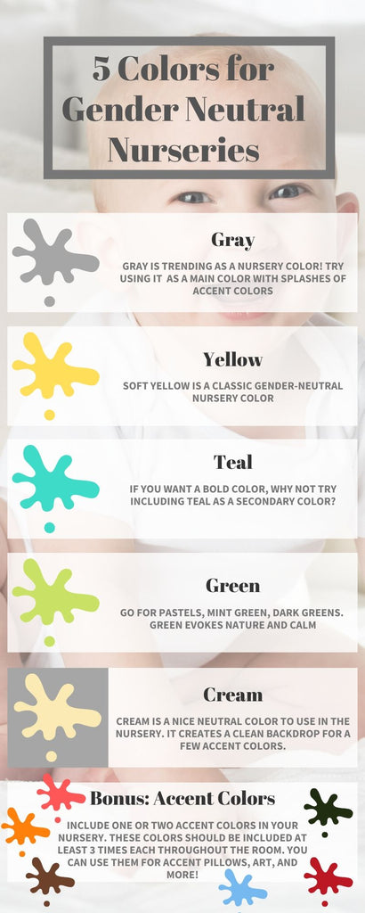 5 Colors for Gender Neutral Nurseries