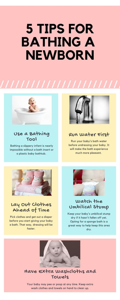 5 Tips for Newborn Baby Bath Time