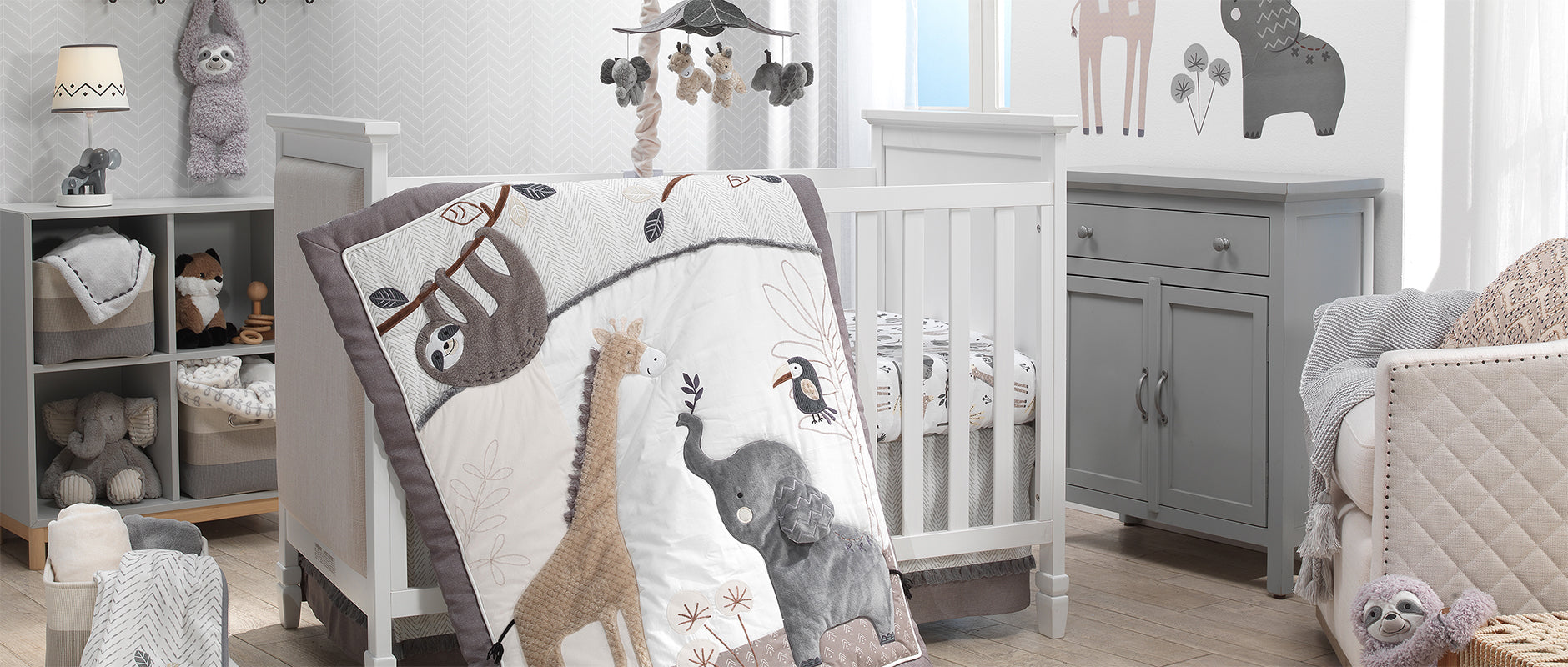 Baby Jungle Crib Bedding Baby Nursery Collection