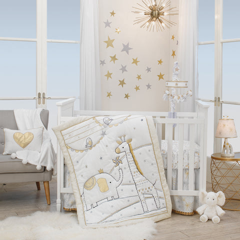 Gold Crib Bedding