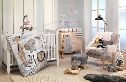 Jungle Safari Crib Bedding