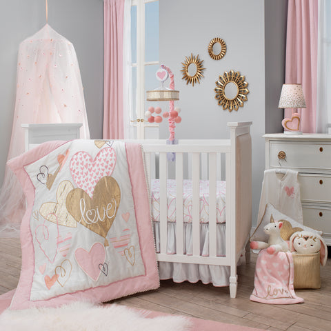 Love Crib Bedding