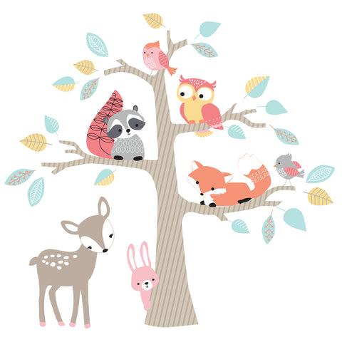 Little Woodland Wall Decals