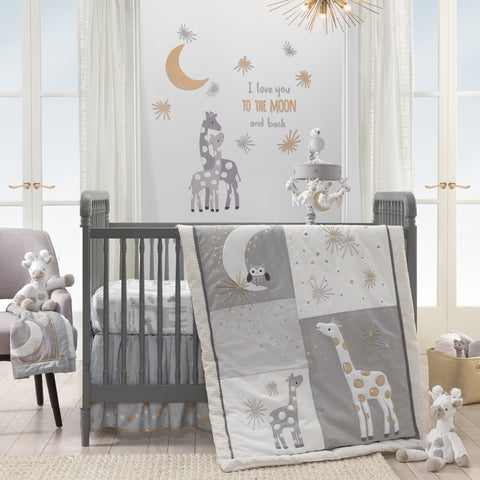 Moonbeams Crib Bedding