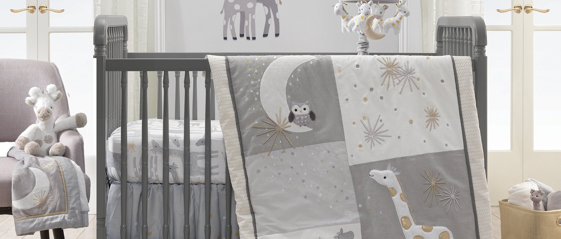 Lambs & Ivy Moonbeams Baby Bedding