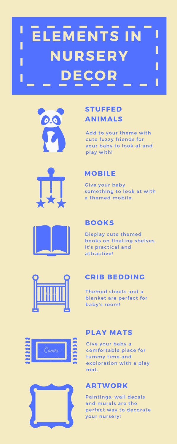 Nursery Decor Essentials Infographic