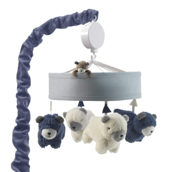 Signature Montana Musical Baby Crib Mobile by Lambs & Ivy