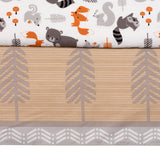 Acorn 3-Piece Crib Bedding Set - Lambs & Ivy