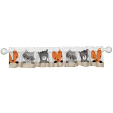 Acorn Window Valance - Lambs & Ivy