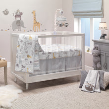 Animal Jungle 4-Piece Crib Bedding Set - Lambs & Ivy