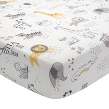 Animal Jungle Cotton Fitted Crib Sheet - Lambs & Ivy