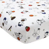 Snoopy™ Sports 3-Piece Crib Bedding Set - Lambs & Ivy