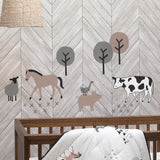Baby Farm 5-Piece Crib Bedding Set by Lambs & Ivy