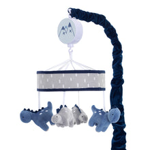 Baby Dino Musical Baby Crib Mobile - Lambs & Ivy