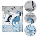 Baby Dino 6-Piece Baby Bedding Set - Lambs & Ivy