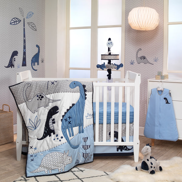 Baby Dino Musical Baby Crib Mobile by Lambs & Ivy