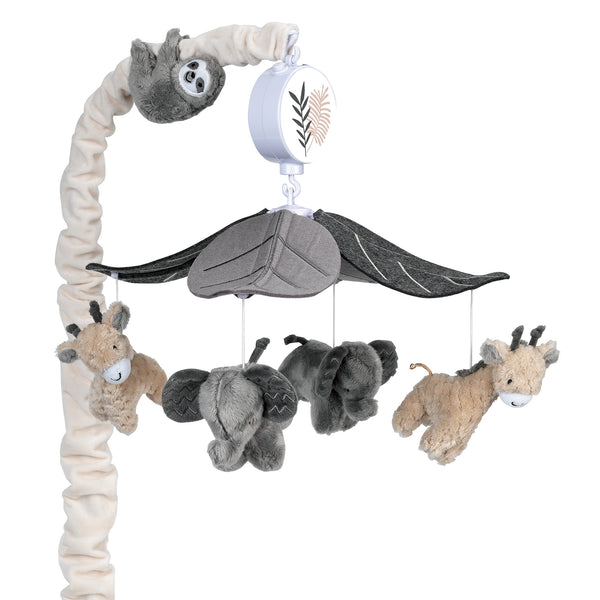 Baby Jungle Musical Baby Crib Mobile by Lambs & Ivy