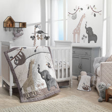 Baby Jungle 4-Piece Crib Bedding Set - Lambs & Ivy