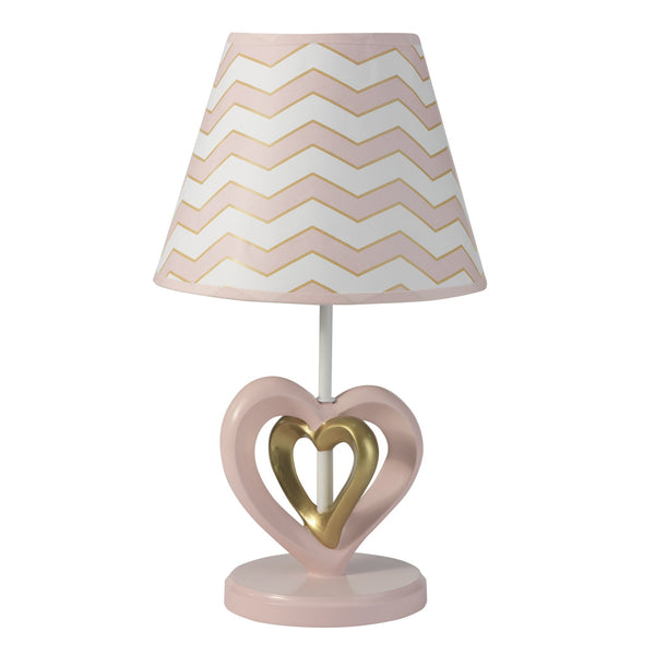 Baby Love Lamp with Shade & Bulb by Lambs & Ivy