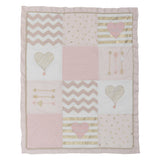 Baby Love 4-Piece Crib Bedding Set - Lambs & Ivy