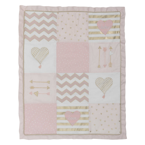 Baby Love 4-Piece Crib Bedding Set by Lambs & Ivy