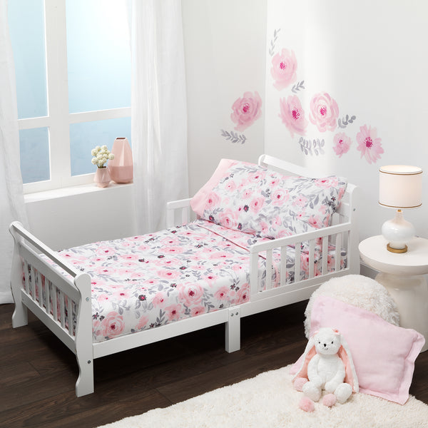 Blossom 4-Piece Toddler Bedding Set by Bedtime Originals