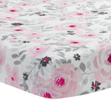 Blossom Baby Fitted Crib Sheet - Lambs & Ivy