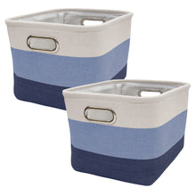 Blue Ombre Nursery Storage Baskets - 2 Pack - Lambs & Ivy