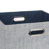 Blue Foldable Storage Basket - Lambs & Ivy