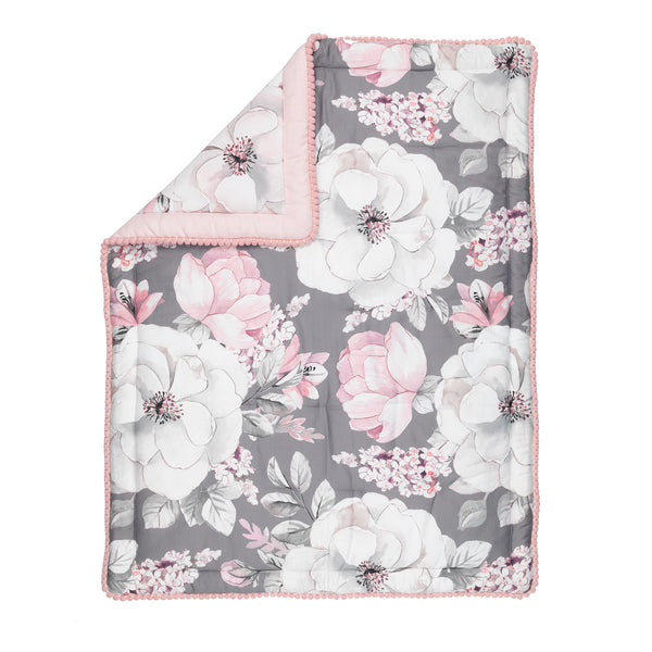 Signature Botanical Baby 4-Piece Crib Bedding Set by Lambs & Ivy