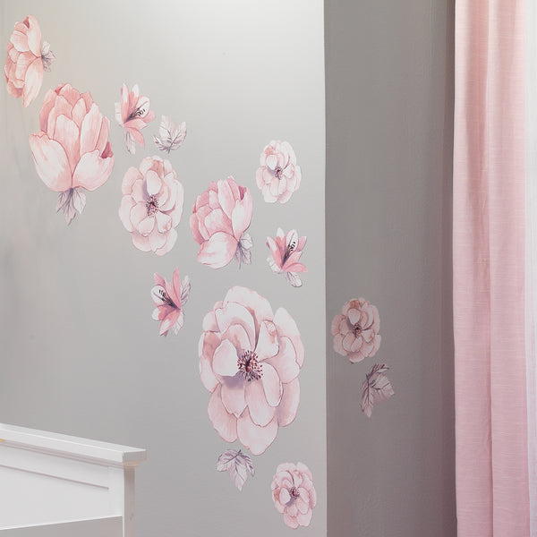Signature Botanical Baby Wall Decals - Lambs & Ivy