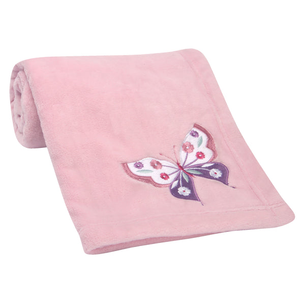 Butterfly Kisses Baby Blanket by Bedtime Originals