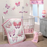 Butterfly Kisses 3-Piece Crib Bedding Set by Bedtime Originals