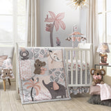 Calypso 4-Piece Crib Bedding Set by Lambs & Ivy