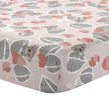 Calypso Cotton Fitted Crib Sheet - Lambs & Ivy