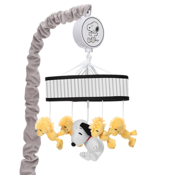 Classic Snoopy Musical Baby Crib Mobile by Lambs & Ivy