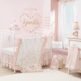 Confetti Cotton Fitted Crib Sheet by Lambs & Ivy