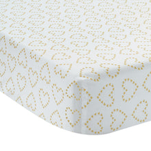 Confetti Cotton Fitted Crib Sheet - Lambs & Ivy
