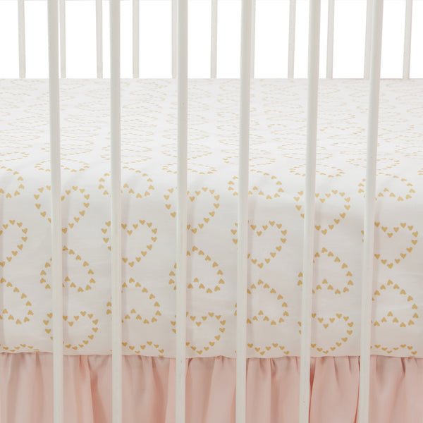 Confetti Fitted Crib Sheet - Lambs & Ivy