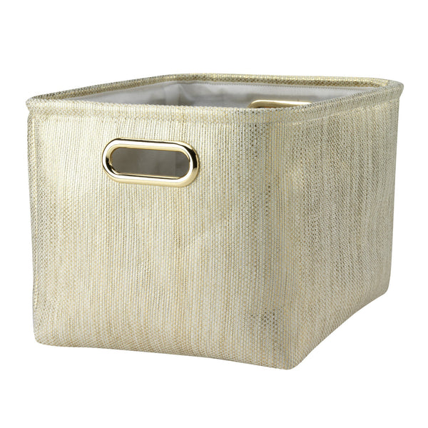 Metallic Gold Storage by Lambs & Ivy