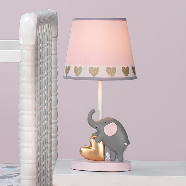 Eloise Nursery Lamp & Shade with Bulb - Lambs & Ivy