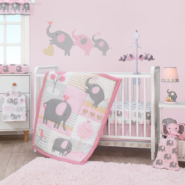 Eloise 4-Piece Crib Bumper by Bedtime Originals