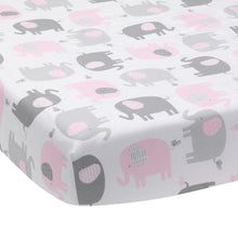 Eloise Fitted Crib Sheet - Lambs & Ivy