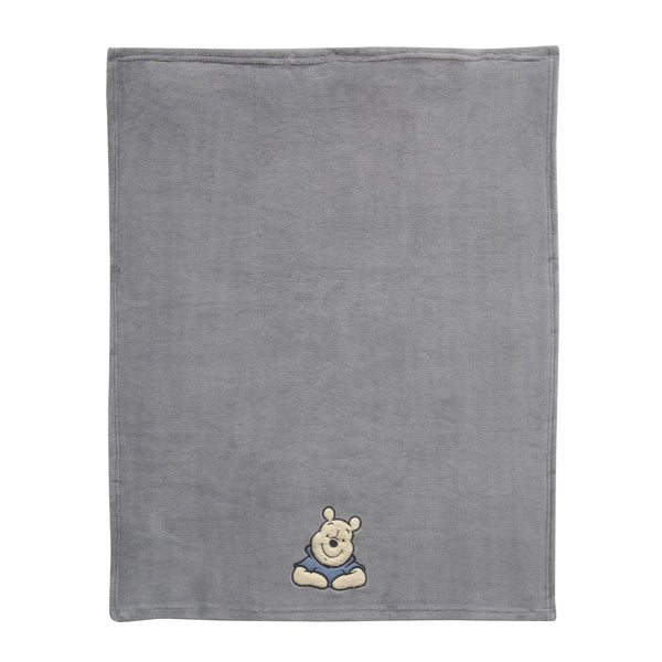 Forever Pooh Baby Blanket by Lambs & Ivy