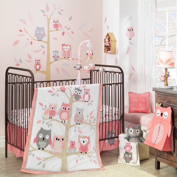 Family Tree Musical Baby Crib Mobile - Lambs & Ivy