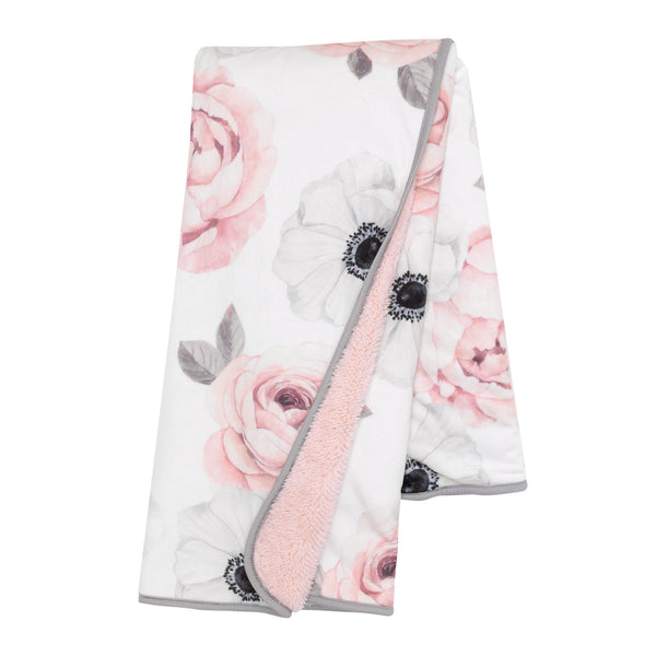 Floral Garden Baby Blanket by Lambs & Ivy