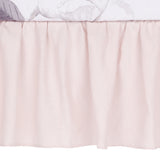 Floral Garden Linen Crib Skirt by Lambs & Ivy