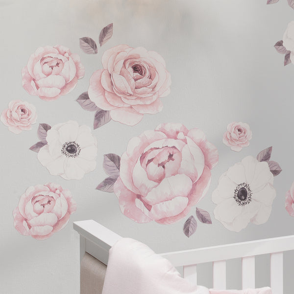 Floral Garden Wall Decals - Lambs & Ivy