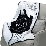 Star Wars Millennium Falcon Baby Blanket by Lambs & Ivy
