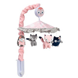 Forever Friends Musical Baby Crib Mobile - Lambs & Ivy